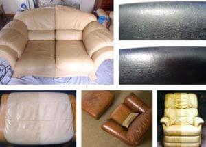 химчистка кожи мебели