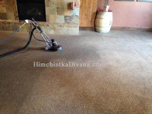 чистка ковров в ресторане