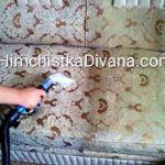 работы по чистке дивана на дому
